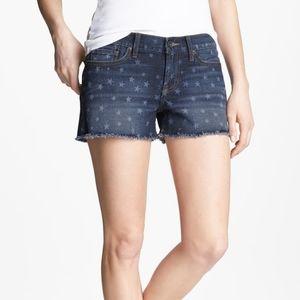 ' Lucky Brand Riley - Americana' Denim Shorts